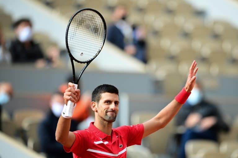 Djokovic storms to 70th win at Roland Garros, Ostapenko stuns second seed Pliskova