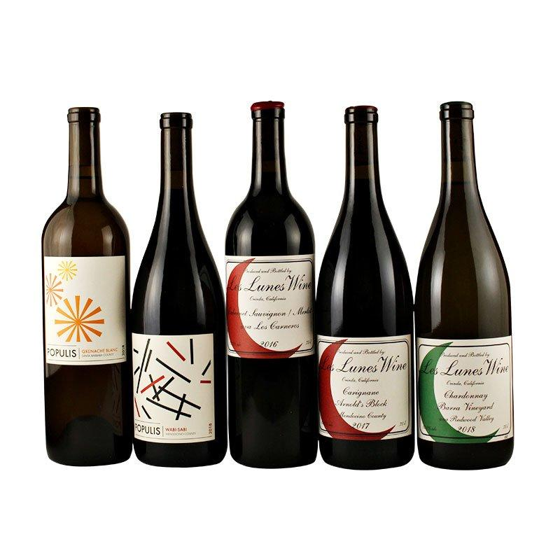 "<p>Send six bottles of California wine made from sustainably grown, minimally processed grapes.</p> <p><strong>To buy:</strong> from $132; <a href=""http://www.lesluneswine.com/wineclub"" target=""_blank"">lesluneswine.com</a>.</p>"