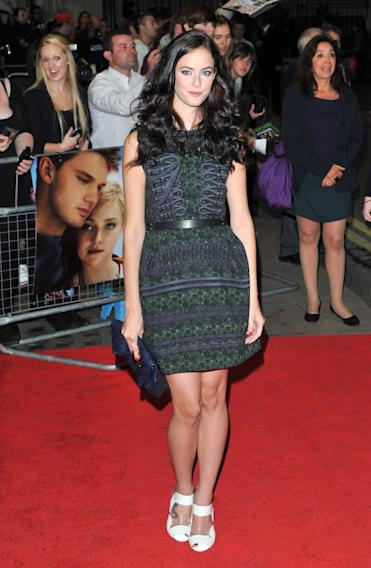 Kaya Scodelario Now Is Good - European film premiere held at the Curzon Mayfair -Arrivals. London, England - 13.09.12 Mandatory Credit: WENN.com