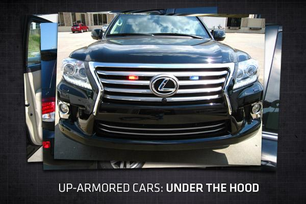 Up-armored cars: under the hood