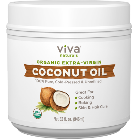 Viva Naturals Organic Coconut Oil (Photo: Walmart)