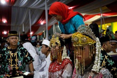 Indonesia naikkan usia minimum bagi pengantin perempuan untuk akhiri pernikahan anak