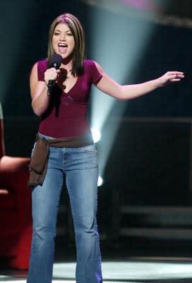 """Kelly Clarkson Final Three Fox's """"American Idol"""" - 8/28/2002"""