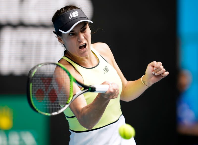 Tennis: Cirstea cracks Konta resistance to advance in New York