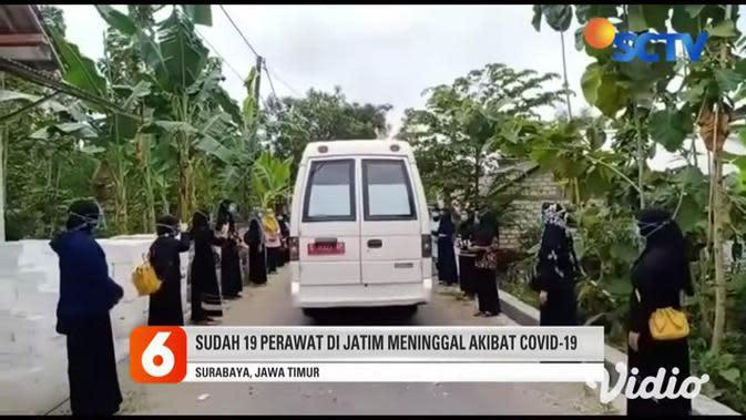 VIDEO: Perawat Senior Puskesmas di Tuban Meninggal karena COVID-19
