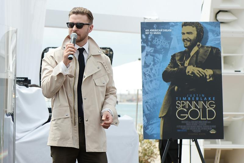Justin Timberlake Dives Into Cannes Sales Pool