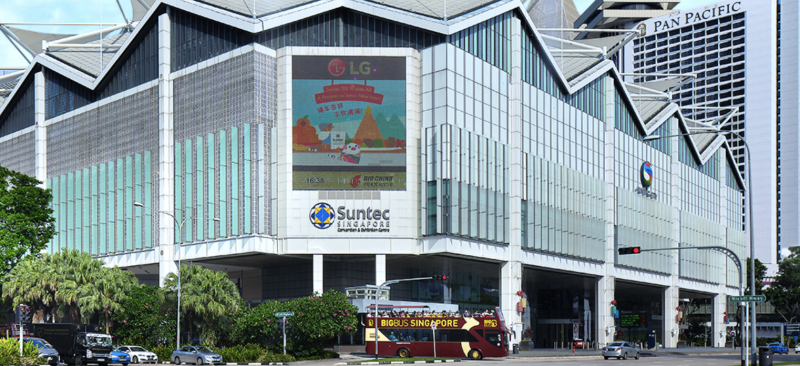"""Suntec Real Estate Investment Trust (""""Suntec REIT"""") is the first composite REIT in Singapore, owning income-producing real estate that is primarily used for office and/or retail purposes. (PHOTO: Suntec REIT)"""