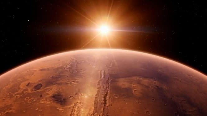 Planet Mars 'Lahir' dari Gempa Bumi