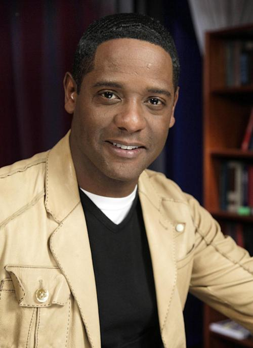 "FILE - This March 7, 2011 file photo shows actor Blair Underwood is interviewed in New York. NBC is announcing a new comedy for fall from ""Scrubs"" creator Bill Lawrence and an updating of the '70s cop drama ""Ironside."" (AP Photo/Richard Drew, file)"