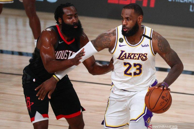 Lakers lempar Rockets keluar orbit dan amankan tiket final wilayah