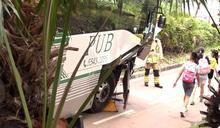 校巴意外24人傷司機骨折 警方疑有人不遵守路面標記