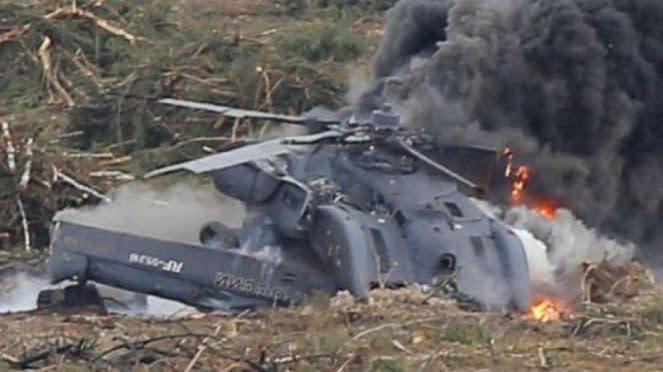 VIVA Militer: Helikopter militer Azerbaijan jatuh ditembak rudal Iran