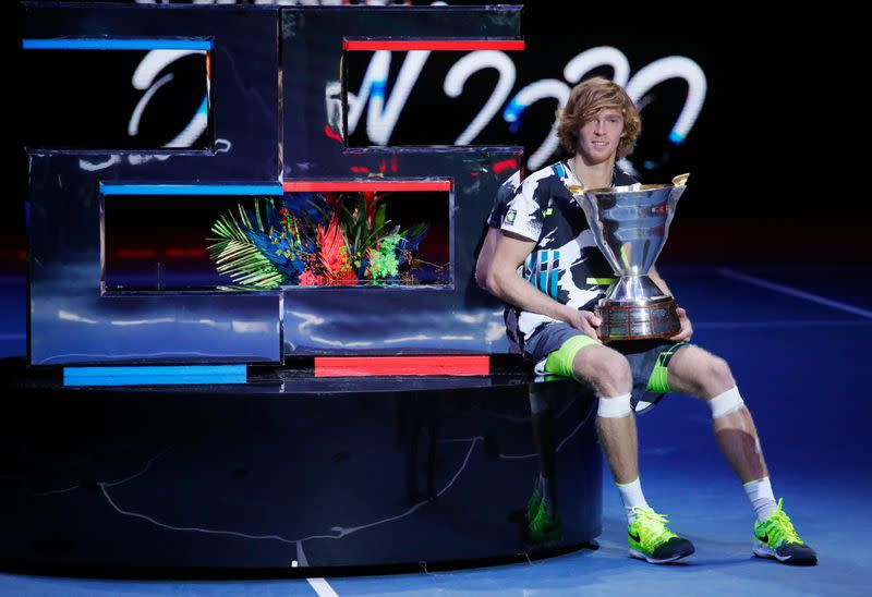 Rublev downs Coric to win St Petersburg Open for fourth title in 2020