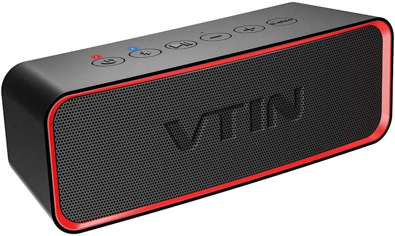 Vtin R2 Portable Bluetooth Speaker. Image via Amazon.