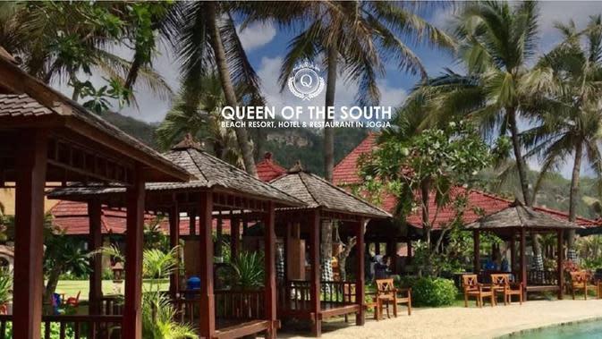 ilustrasi rekomendasi villa di Yogyakarta cocok untuk staycation bersama keluarga untuk menghilangkan penat/instagram: queenofthesouth_resort