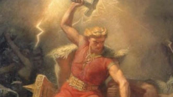 Thor, Dewa Petir.