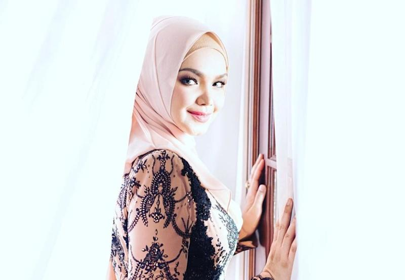 Siti Nurhaliza expressed disappointment after a few individuals reuploaded her newly-released single on YouTube. — Picture via Instagram