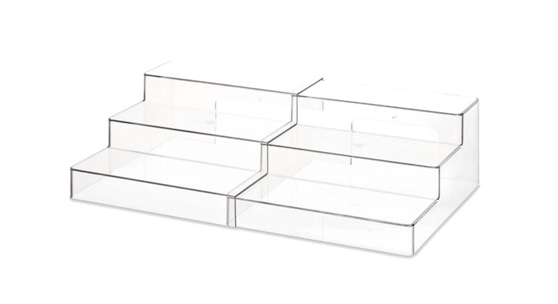 The Home Edit & iDesign 3 Tier Expandable Shelf