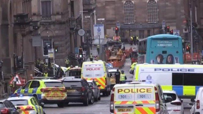 Enam Orang Ditikam di Hotel Inggris, Tersangka Ditembak Mati