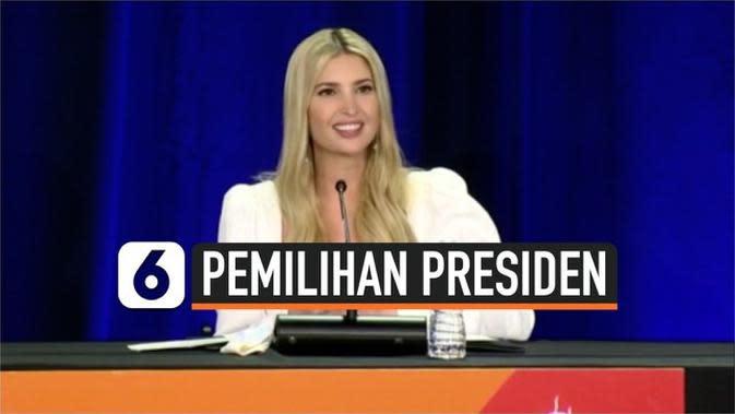VIDEO: Ivanka Trump Bantu Kampanye Kemenangan Ayahnya di Pilpres AS