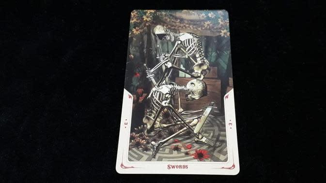 Tarot 3 of Swords