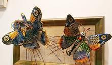 希拉蕊、歐普拉都愛他的作品 旅美工藝家蔡爾平在台辦個展
