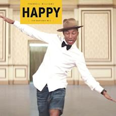 Chart Watch: 'Happy' Tops 4M