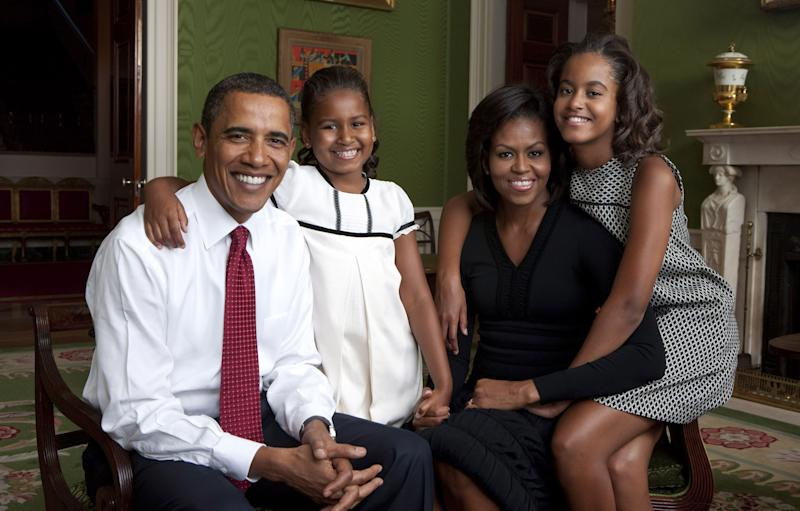 Barack Obama's youngest daughter, Sascha Obama, is all grown up. Photo: Getty Images