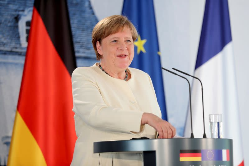 Do I wear a mask? Catch me at the grocery store, says Merkel