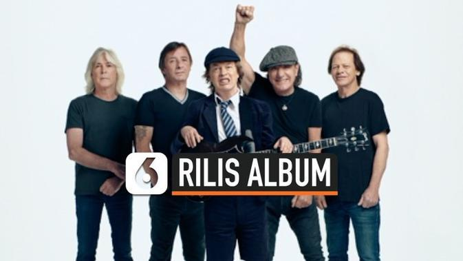 VIDEO: Band Rock Legendaris AC/DC Rilis Album Lengkap ke-17