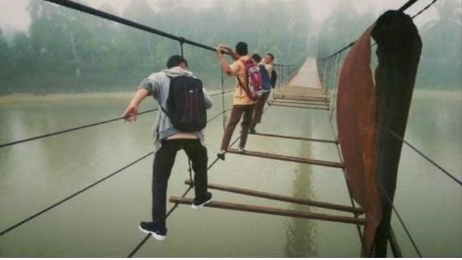 Fakta-Fakta Jembatan Gantung Putus di Kaur Bengkulu