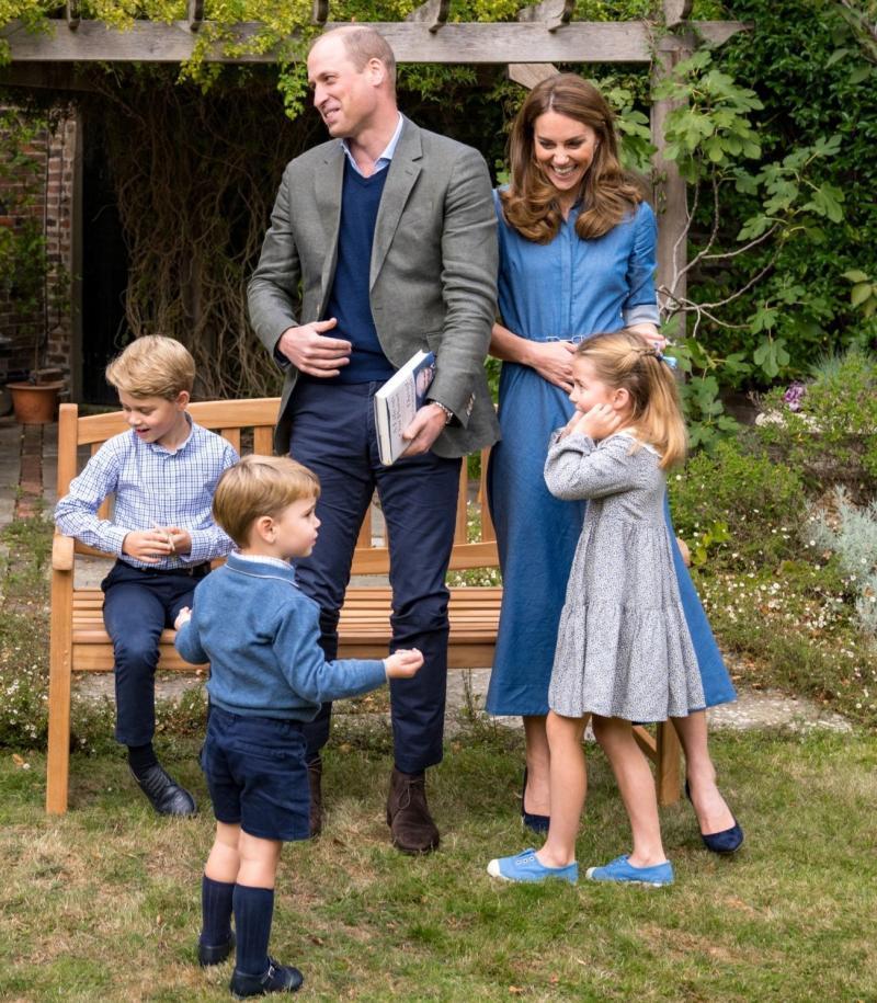 The Duchess of Cambridge wears Gabriela Hearst's 'Marley' dress - Kensington Palace