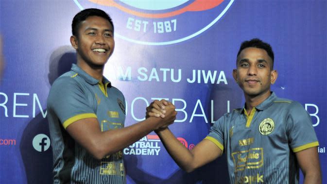 Resmi Gabung Arema FC, 2 Anggota TNI Tak Ingin Hanya Jadi Pelengkap