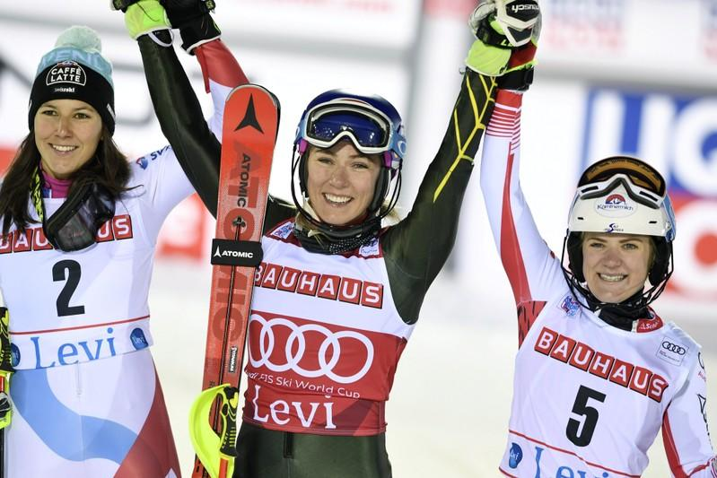 Alpine Skiing - FIS Alpine Ski World Cup - Women's Slalom