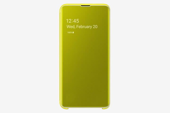 Samsung S-View Flip Case for Samsung Galaxy S10e
