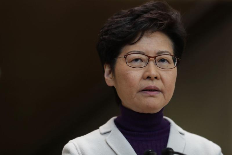 Pemimpin Hong Kong tidak tunduk pada tekanan setelah protes besar-besaran akhir pekan
