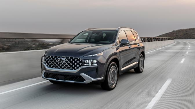 Hyundai Siapkan Empat Mesin Baru untuk New Santa Fe