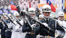 國慶大會 國防部聯合樂儀序幕暖場 (圖)