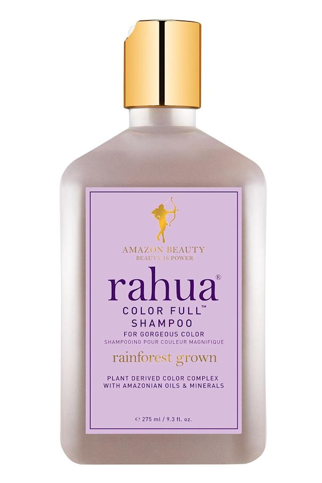 """<p><strong>Rahua</strong></p><p>sephora.com</p><p><strong>$38.00</strong></p><p><a href=""""https://go.redirectingat.com?id=74968X1596630&url=https%3A%2F%2Fwww.sephora.com%2Fproduct%2Fcolor-full-shampoo-P417812&sref=https%3A%2F%2Fwww.cosmopolitan.com%2Fstyle-beauty%2Fbeauty%2Fg22740377%2Forganic-shampoo%2F"""" target=""""_blank"""">Shop Now</a></p><p>This organic, sulfate-free shampoo is <strong>perfect for anyone who has color-treated or <a href=""""https://www.cosmopolitan.com/style-beauty/beauty/g29784969/how-to-bleach-hair-at-home/"""" target=""""_blank"""">bleached hair</a></strong>. It uses Amazonian rahua oil to strengthen each strand and lock in color, plus morete fruit extract, which is rich in vitamins A, C, and E. Together, these vitamins help protect hair from UV damage, and in turn, keep your color looking fresh and vibrant.</p>"""