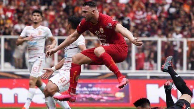 Persija Jakarta vs Borneo FC Liga 1 2020