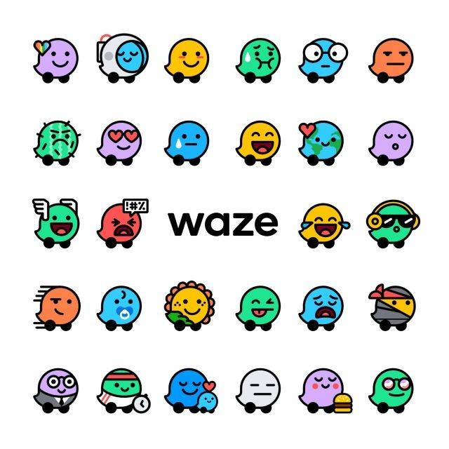 Share your mood of the day on Waze