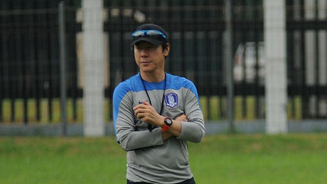 Shin Tae-yong. (Liputan6.com/Helmi Fithriansyah)