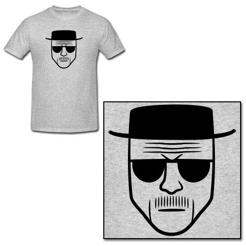 """Breaking Bad"" -- The Heisenberg T-Shirt"