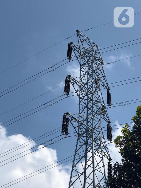 Pengoperasian jaringan transmisi bertegangan 150 kilovolt (kV) ini seiring dengan penyelesaian pembangunan 1.265 menara jaringan transmisi. (Dok: Humas PLN)