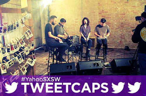 SXSW '13 Tweetcap: Superhumanoids, Power Pop Legend Shoes, And More Rock Out At Yahoo! HQ
