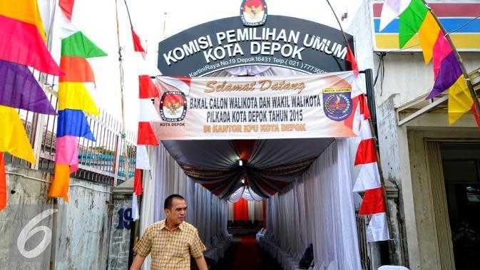 Pakai Mobil Woro-Woro, KPU Depok Sosialisasi Pilkada 2020