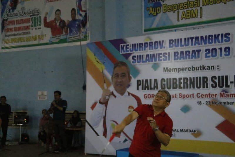 564 pebulu tangkis berlaga di Kejurprov Sulawesi Barat 2019
