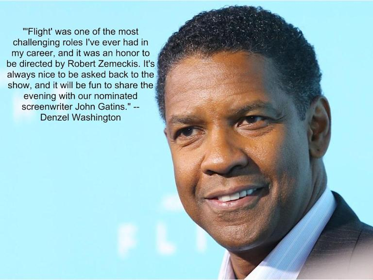 "Denzel Washington, ""Flight"""