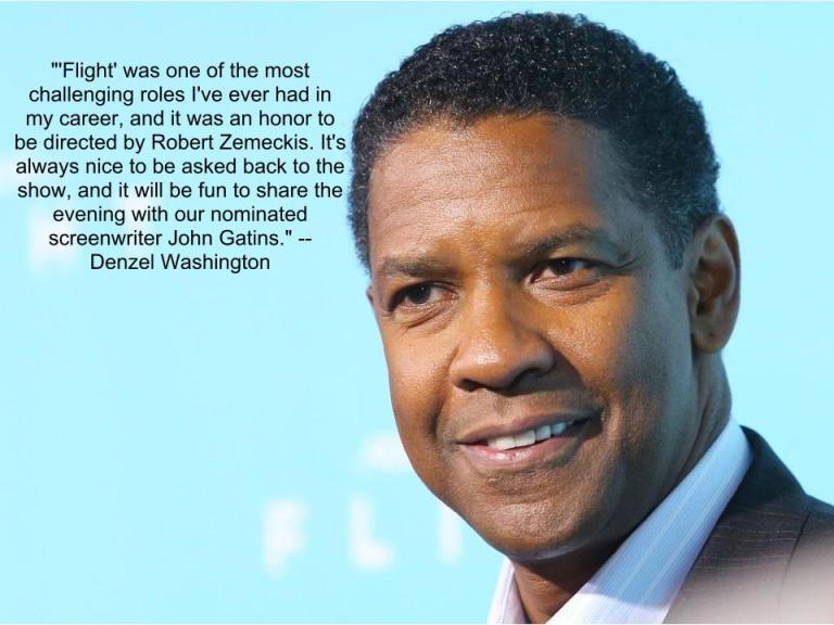 "Denzel Washington, ""Flight"""