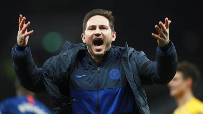 Pelatih Chelsea, Frank Lampard. (AP/Ian Walton)